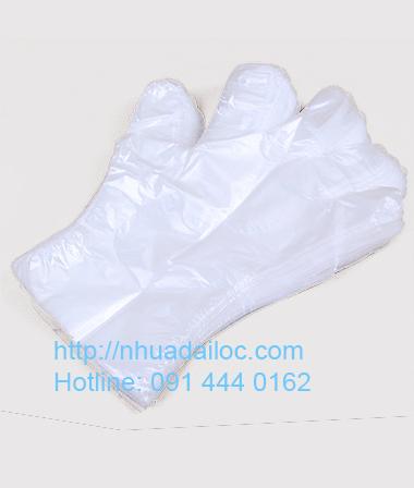 Bao tay nilon trắng
