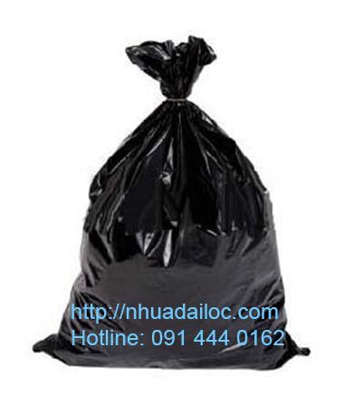 bao nylon đen đựng rác 90