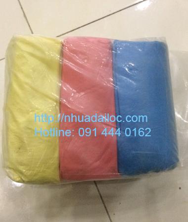 túi đựng rác 3 màu size tiểu