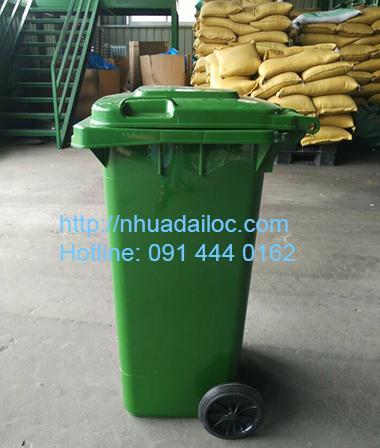 thùng rác công cộng lớn