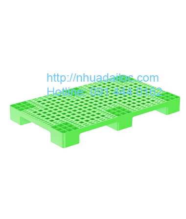 Pallet nhựa hình chữ nhật