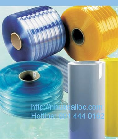 rèm nhựa dẻo PVC giá rẻ tại Bình Dương