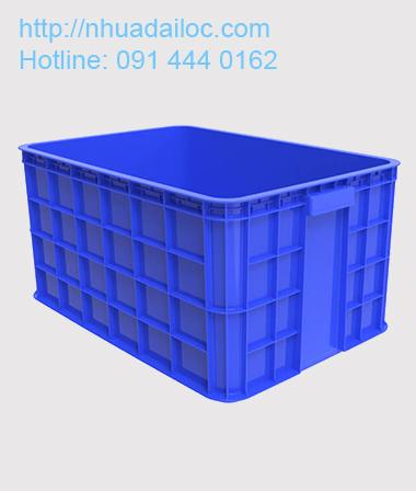Thùng nhựa bít vuông 3T1